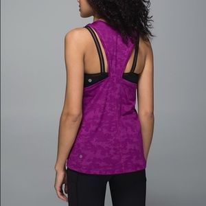 lululemon athletica Tops - Lululemon Purple Run For Days Tank Regal Plum